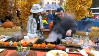 Chef Jason Santos on CBS This Morning - Halloween