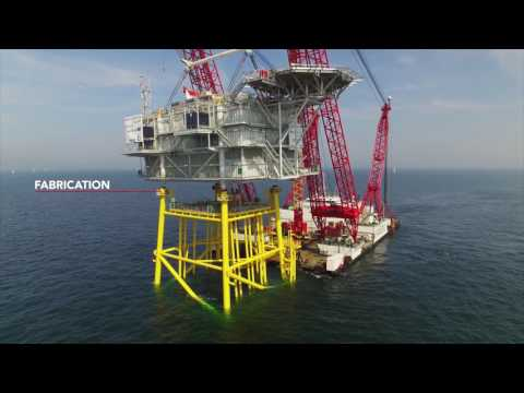 Gemini Offshore Wind Park - Offshore High Voltage Substation