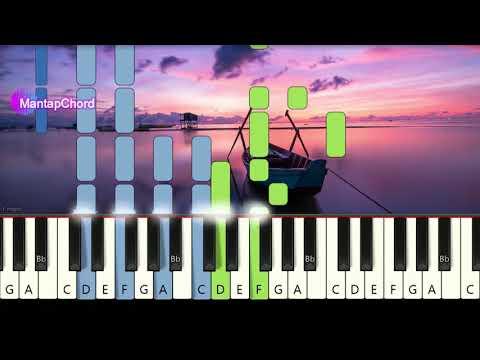 COLDPLAY - THE SCIENTIST - Very Easy Piano Tutorial MantapChord
