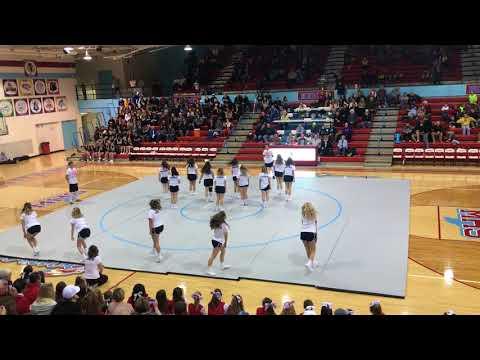Maconaquah High School Cheer Appreciation 2018