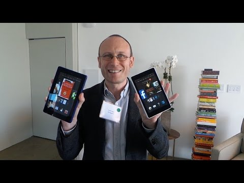 "Hands On: Amazon Kindle Fire HD 6"" & HD 7"""