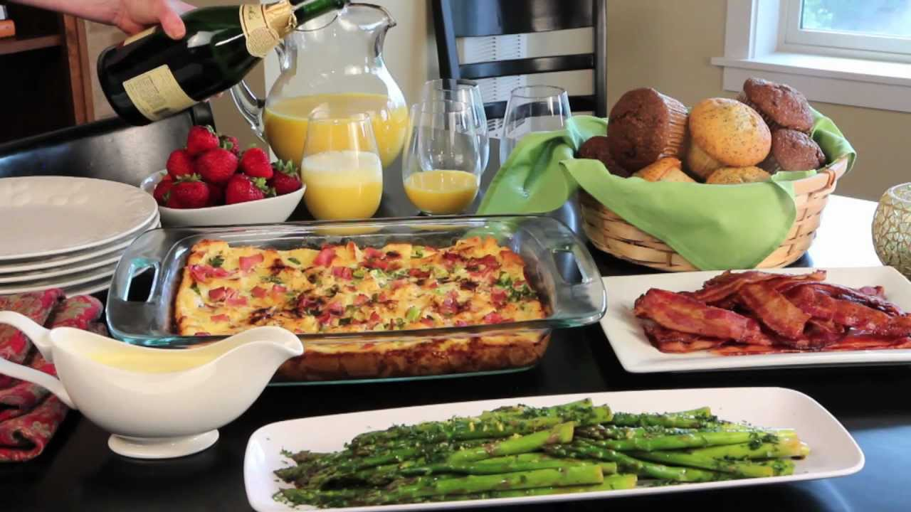 holiday brunch easy and elegant christmas breakfast allrecipescom youtube
