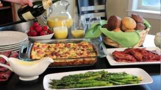 Holiday Brunch-Easy and Elegant Christmas Breakfast