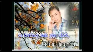 karaoke NGUOI TINH TREN CHIEN TRAN thieu giong nam