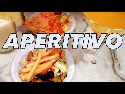 Aperitivo: Drinks, food and experiencing nightlife in Milan, Italy