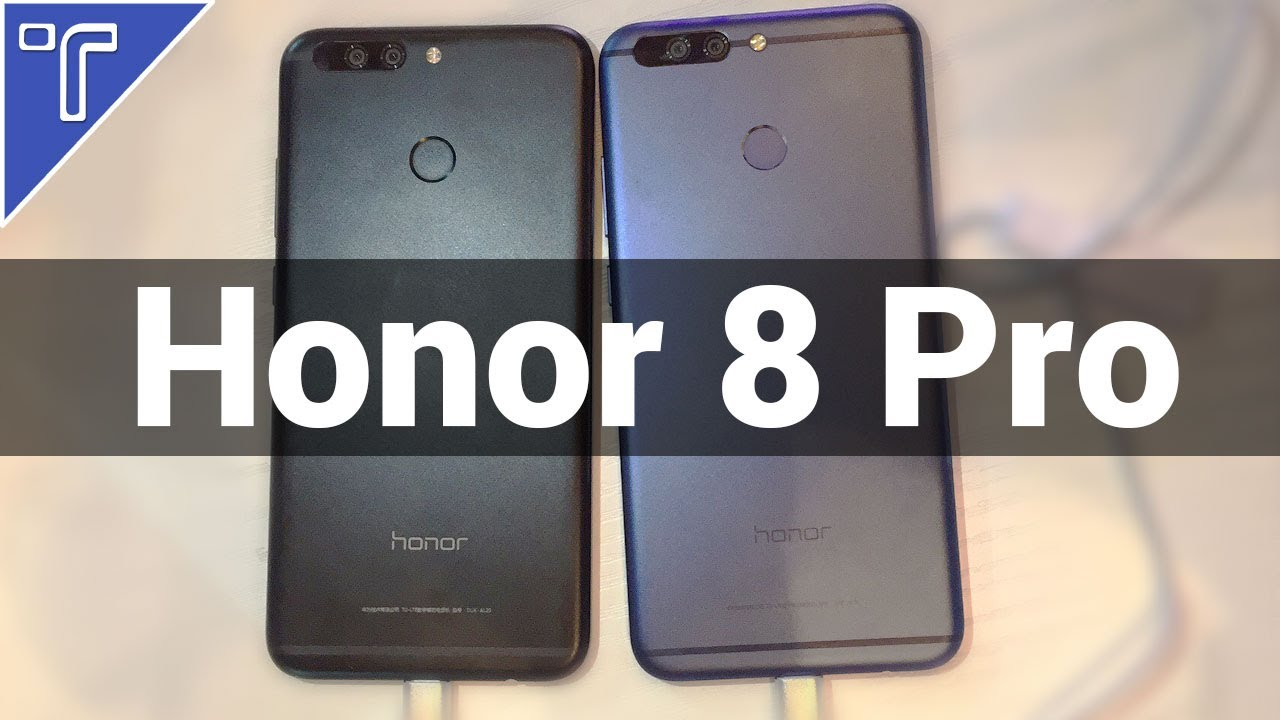 Honor 8 Pro Hands On review, Camera & Features! (Blue Vs ...