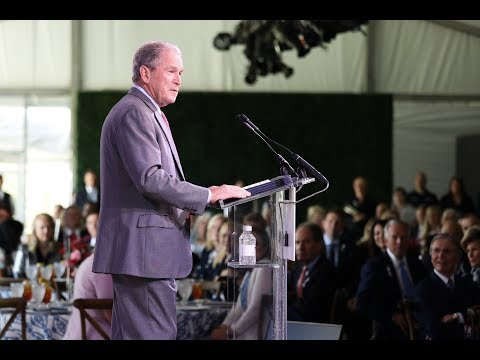 Remarks by President George W. Bush and Mrs. Laura Bush