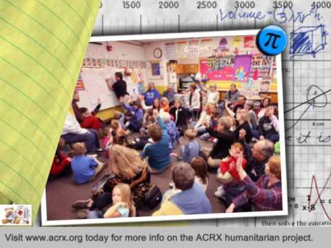 Sunset Lake Elementary School Receive Tribute & Free Medicine Help by Charles Myrick of ACRX