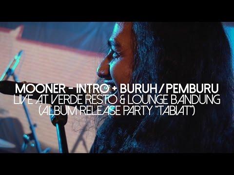 "Mooner - Intro + Buruh/Pemburu | Live at Verde Resto & Lounge BDG (Album Release Party ""Tabiat"")"