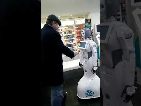 Робот в Аптеке Самсон-Фарма