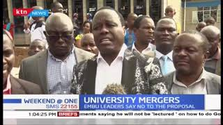 Embu leaders opposed to proposals to merge universities
