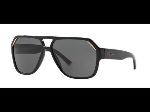 70db495189b Dolce Gabbana 4138 Sunglasses 50187 SHINY BLACK - YouTube