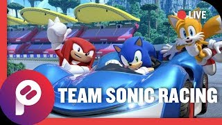 Let's Go Fast with Team Sonic Racing! SW-4195-4284-6033