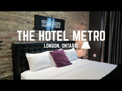 The Hotel Metro | A Boutique Hotel In London, Ontario