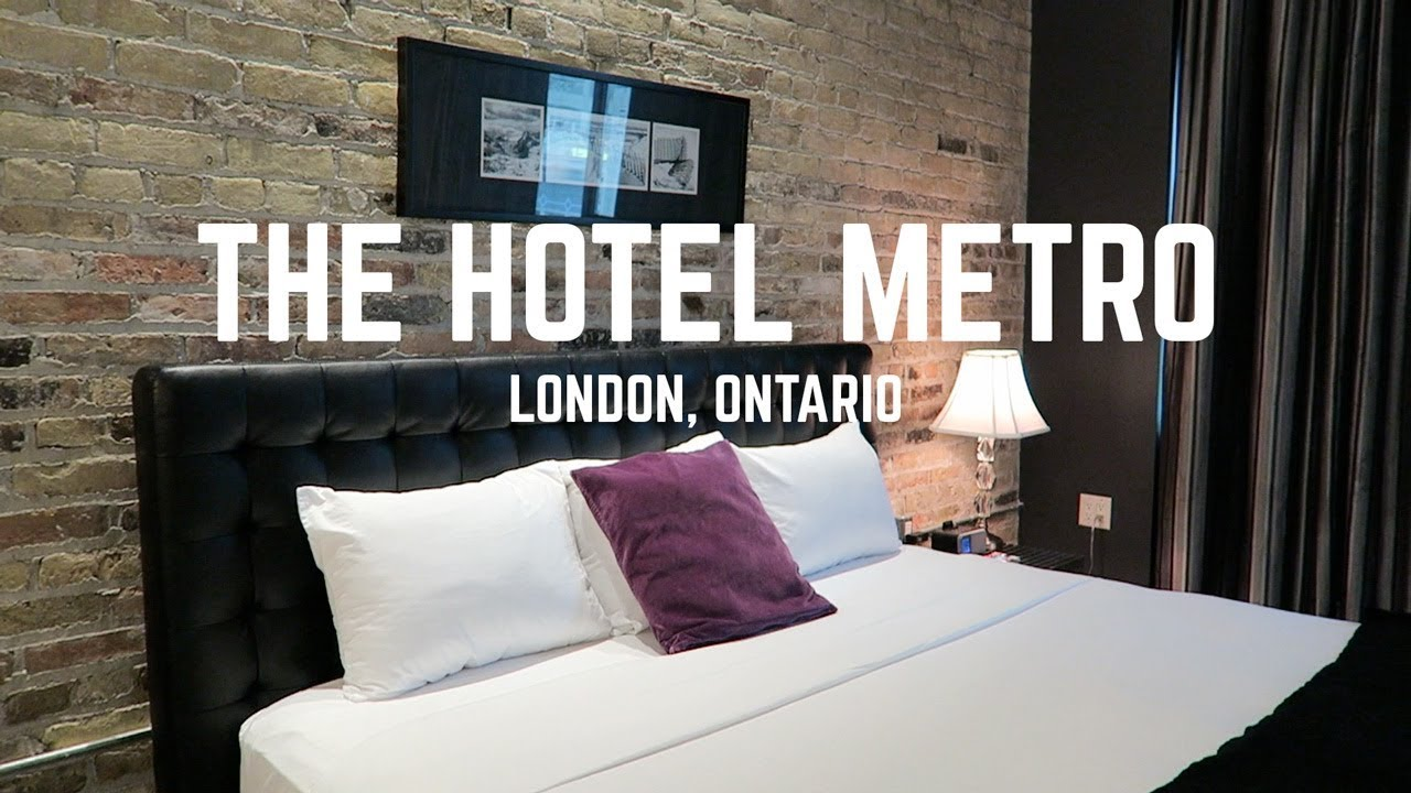 The Hotel Metro A Boutique In London Ontario