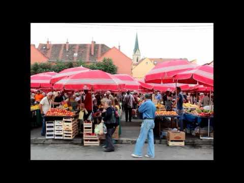 Green Screen background  Zagreb Dolac market