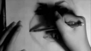 Drawing Lady Gaga- Bloody Mary