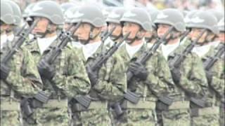 Repeat youtube video 【高画質・再編集】平成22年度自衛隊記念日行事 観閲式 観閲行進