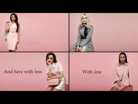 Little Mix - I Will Wait (Mumford and Sons Cover) (Lyrics + Pictures)
