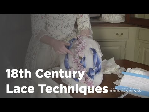 Sarah Woodyard discusses Lace in the 18th Century HD