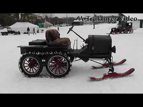 2018 Model T Ford Snowmobile Meet