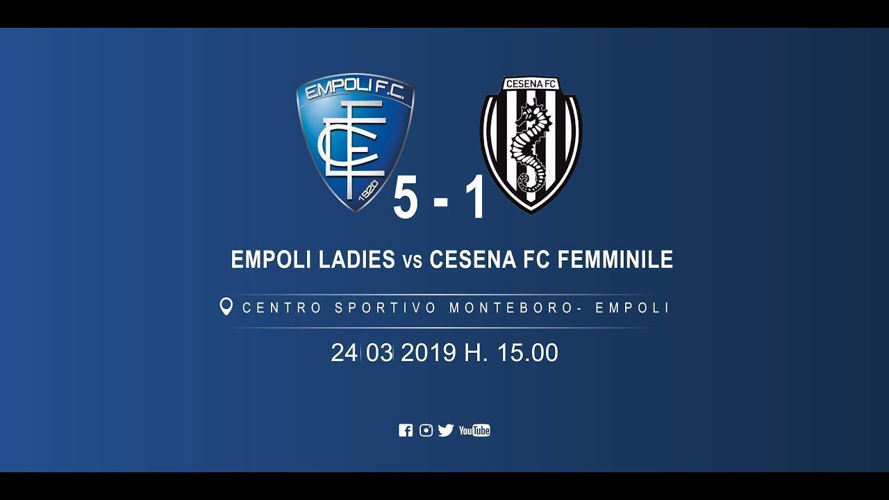 Empoli Ladies - Cesena Fc