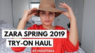 Download Video NEW IN ZARA HUGE TRY ON HAUL | SPRING 2019 MP3 3GP MP4