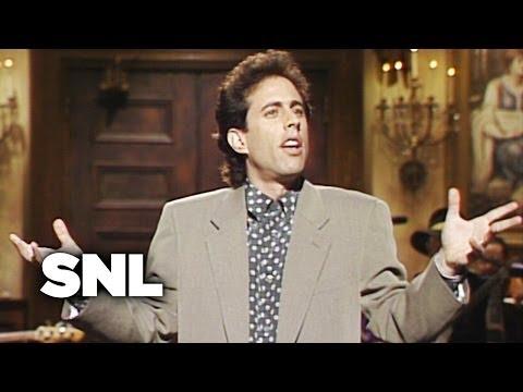 Jerry Seinfeld Monologue: New York - Saturday Night Live