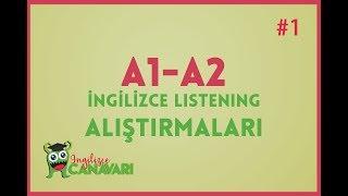 A1 A2 İngilizce Dinleme Alıştırmaları (Listening in English) #1