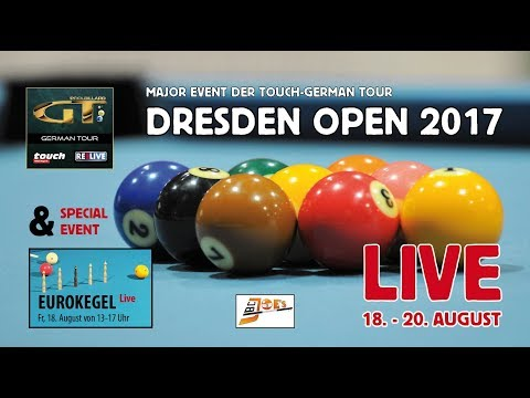 DRESDEN OPEN 2017 powered by Touch & REELIVE Ergebnisse: