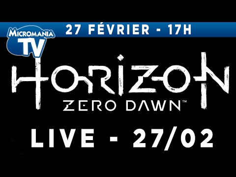 Horizon Zero Dawn - LE LIVE