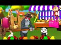 Monkey Selling Fruits | Funny Animals in Forest to Buy Fruits from Monkey | Funny Animalss