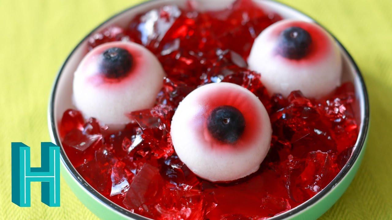 Gummy Eyeballs - Halloween DIY 🎃 Hilah Cooking - YouTube
