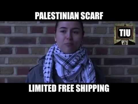 Authentic Palestinian Keffiyeh Scarf History