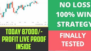 Today Profit Using My More Powerful Indicator