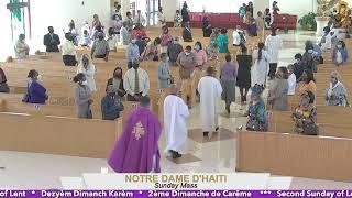 Second Sunday of Lent // 9:30 AM Mass 02.28.21