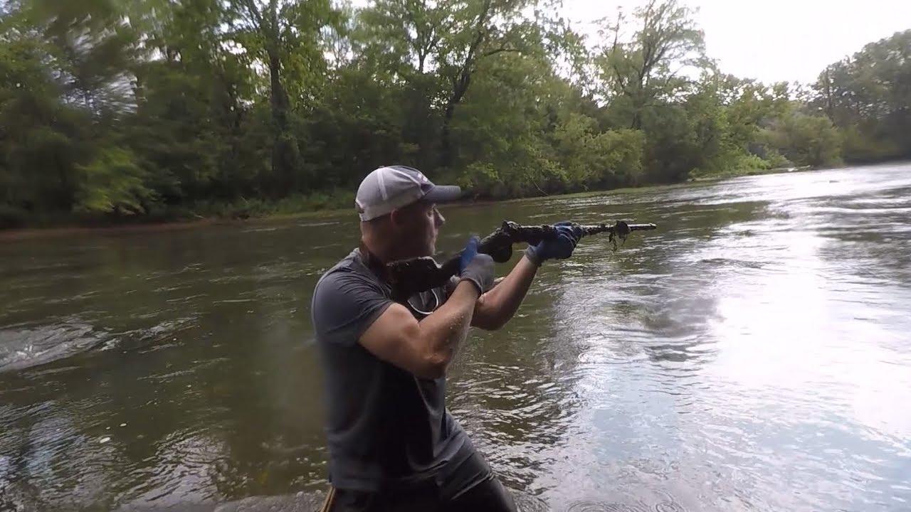 Metal Detecting Found a Gun: Civil War Burnside Carbine Rifle & Bullets  !!!!!