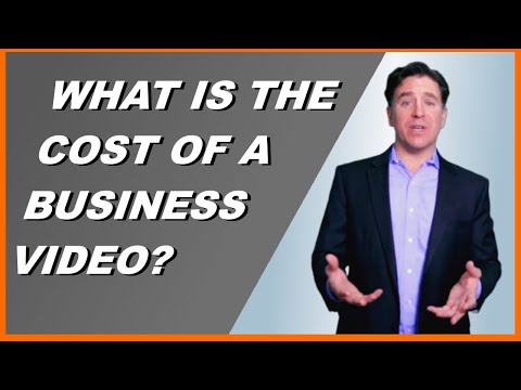 How much does an average business video marketing production cost?
