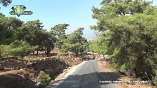 Kayaköy Fethiye Arası Yol Doğası
