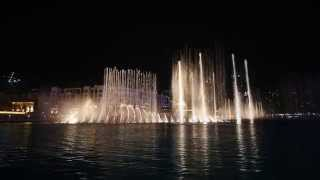 The Dubai Fountain 2015