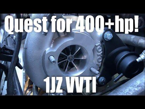 Quest to 400HP 1JZ VVTI PART 1