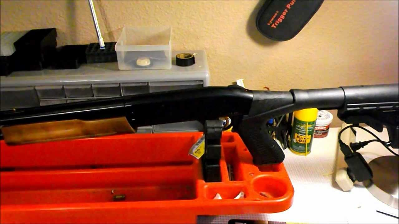 Mossberg 500 / 20 gauge Practical to Tactical Part 2  Installation of the  Blackhawk SpecOps Stock