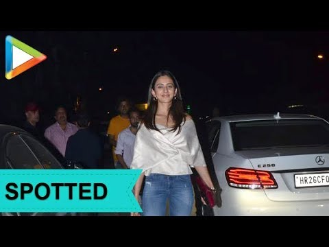 SPOTTED: Actress Rakul Preet Singh at Soho House Juhu