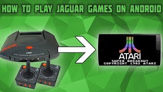 How to Play Atari Jaguar Games on Android! Virtual Jaguar Setup Tutorial! Jaguar Games on Android!
