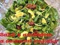 Originální recepty podle LU: Salát s avokádem a sušenými rajčaty