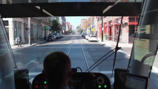 The City of Cincinnati launches its first Streetcar Line, connectin...