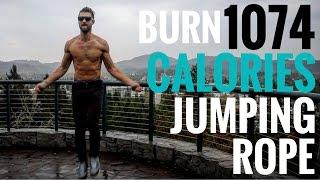 Burn 1074 Calories An Hour Jumping Rope | Zen Dude Fitness
