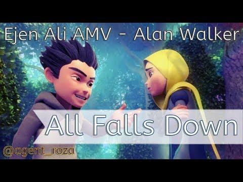Ejen Ali AMV - Alan Walker - All Falls Down