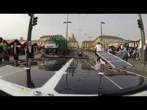 On-board camera in Turin