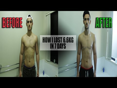 Fastest way to lose weight for weigh in